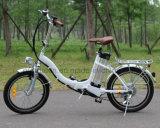سبيكة إطار يطوي درّاجة كهربائيّة مع دوّاسة