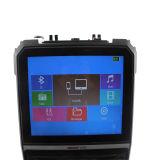 Neue Art beweglicher LCD-Laufkatze-Lautsprecher mit buntem Kugellicht mit LCD-Bildschirm