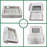Conseil d'ivoire imprimé personnalisé brillant Boîte avec fenêtre PVC