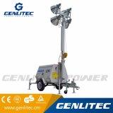 4000-6000 de Mobiele Towable Lichte Toren van watts met de Mast van 9m