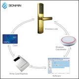 지능적인 호텔 모텔 무선 ANSI는 카드에 의하여 활성화된 자물쇠를 접합한다