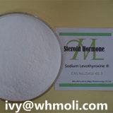 Натрий Levothyroxine 25416-65-3 стероида T4 формы и пригодности сырцовый