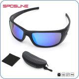 Deportes irrompible Cyling negro de su propia marca de gafas de sol Gafas de seguridad