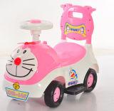 Caminhante plástico simples do bebê do carro encantador do balanço do brinquedo do bebê