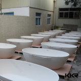 Bañera libre de piedra blanca de Sanitaryware
