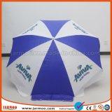Anunciando o guarda-chuva de praia da promoção
