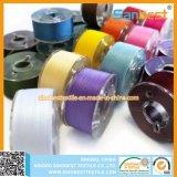 De 100% Gesponnen Draad van de Spoelen van de pre-Wond van de Polyester voor Borduurwerk