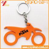 Keyring lindo caliente del PVC Keychain/PVC Keyholder/PVC del color púrpura de encargo (YB-KC-447)