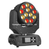 Vello LED bewegliches Hauptstadiums-Licht des Wäsche-Träger-RGBW (LED XP200)