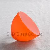 مخروط طبيعيّ برتقاليّ يفجّر [لمب شد] زجاجيّة [نك032]