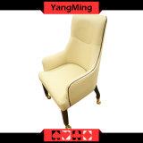 오크 손잡이지주 Ym-Dk13를 가진 의자 큰잔 카지노 테이블 게임 카지노 의자를 식사하는 유럽 단단한 나무