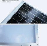 Lastra di vetro solare economizzatrice d'energia 30W al mono e poli comitato solare di 300W