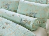 Último projeto de qualidade superior e preço competitivo Bed Retalhos Flores de cor verde