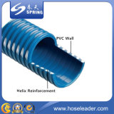 Boyau de débit de boyau/eau d'aspiration de PVC