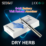 Verstuivers Rebuiltable van het Kruid van de Uitrusting van het Herladen van Vhit van Seego de Persoonlijke Droge met de Batterij van het EGO