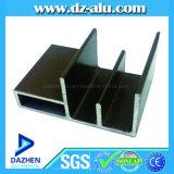 Profil en aluminium en bronze anodisé pour le guichet de tissu pour rideaux