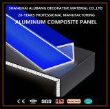 装飾的で物質的なアルミニウム合成のパネル(ALB-080)