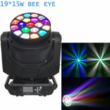 1개의 LED 꿀벌 눈 빛에 대하여 19* 15W RGBW 4