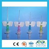 IV cateter descartável da cânula IV com asa