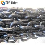 DIN 763 стальных оцинкованных звенной цепи подъема