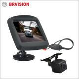 Sistema de cámara retrovisor coche impermeable con 3,5 pulgadas mini Monitor