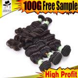 Оптовая торговля 8''-28''индийского плетение волос Реми волосы добавочный номер