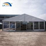 12X20m Luxuxglaswand-Zelt-Hochzeits-Festzelt für im Freienereignis