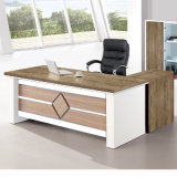 옆 책장 가동 주춧대를 가진 사무실 책상 행정상 테이블