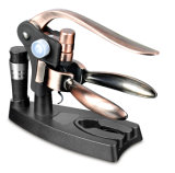 Ouvreur de bouteille du tire-bouchon en métal de lapin de vin d'ouvreur du serveur de luxe de Levier-Type