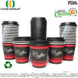 Большая емкость кофе дизайн 20 унции бумагу чашка для горячих напитков