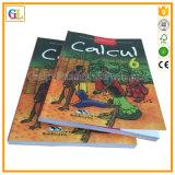 安い薄紙表紙の本の印刷サービス(OEM-GL006)
