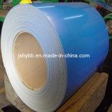 Il colore ha ricoperto le bobine d'acciaio galvanizzate preverniciate laminate a freddo della lamina di metallo