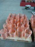 Froid rectangulaire d'acier inoxydable de Coilcustomized d'acier inoxydable et condensateur de serpentin de refroidissement d'échangeur de chaleur