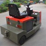 Fester Gummielektrischer Schleppseil-Traktor des rad-Gummireifen-4t/6t