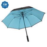 女性の方法カスタム黒いゲルの上塗を施してある紫外線抵抗の傘