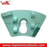 Плита диаманта трапецоида полируя для полировать конкретный пол