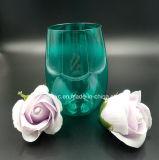 16oz Diseño colorido de la copa de vino de plástico