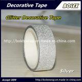 Multifunción DIY Glitter Glitter cintas decorativas de colores cinta adhesiva 1,5cm*3m