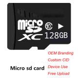 100% de la plena capacidad de la clase de Tarjeta Micro SD10 de 128GB TF tarjeta de memoria de alta velocidad