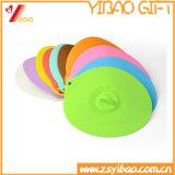 Coperchio su ordinazione della tazza di tè del silicone del commestibile di colore da vendere