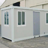 20 футов Низкая стоимость сегменте панельного домостроения в Переносной контейнер дома
