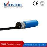 M18 No/Nc NPN/PNP kapazitiver Abstandssensor-Schalter mit Cer