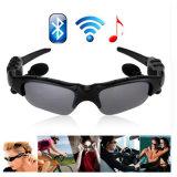 サングラスのMicが付いているガラスEarbudsを運転する無線Bluetoothのヘッドホーンのヘッドセットの電話はiPhone Smartphoneのためのガラスを注目する