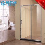 Uma fixa um chuveiro porta corrediça sobre Pomotion (BL-F3015)