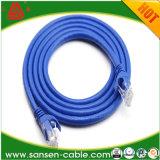 LANケーブルUTP CAT6パッチの有線放送網ケーブルCAT6