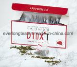 カスタマイズされたブランドのDtox'tの14日間の減量の解毒の茶いちごおよびマンゴの注入