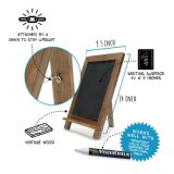 One simmers standing Customized A-Frame Chalkboard Easel - Beautiful Pine Frame
