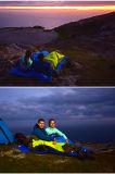 Temporada 3 Portable que envuelven al aire libre Camping Saco de dormir con la tapa