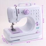 Máquina de coser hogar doméstico del punto de cadeneta de la ropa de la fábrica de China del mini