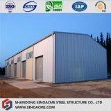 Bewegliches Stahlgebäude für hölzernen Ladeplatten-Speicher